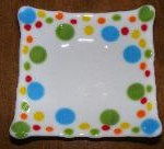 Fused Glass Dots