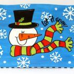 Silly Snowman Photo