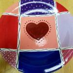 Valentine Quilt Plate