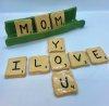 Clay Scrabble Tiles