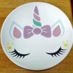 Unicorn Plate 1