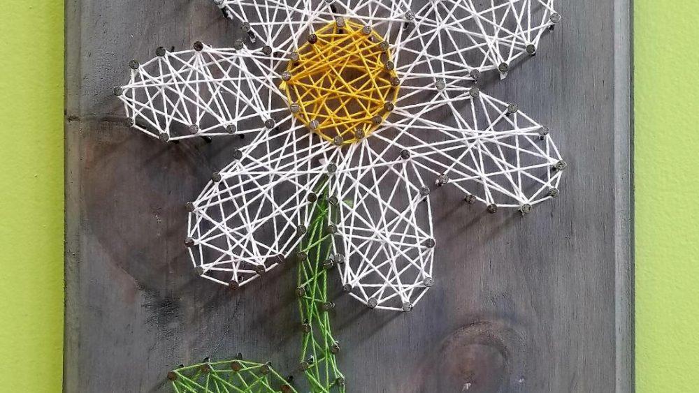 Daisy String art